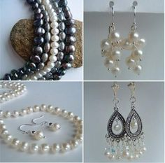 DIY:: Pearl Drop Earrings