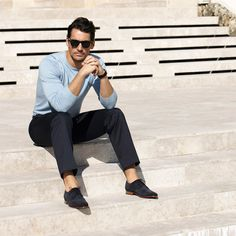 A Sartorial Italian Elegance, David Gandy for Marks & Spencer SS 2013.