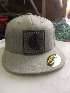 ad9a1d1c7a0 Custom Leather Patch Hat Custom Leather