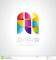 abstract-vector-logo-design-template-combination-letters-m-s-creative-concept-icon-40145836.jpg (1300×1390)