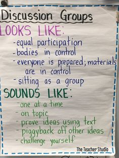 This post is all about improving the level of discussion in your literature groups...check out the lessons taught in my class that made a huge difference.