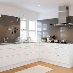 Kjøkkeninspirasjon - Hvite kjøkken – Birka
