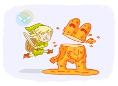 Link vs Lava Man   Flickr - Photo Sharing!