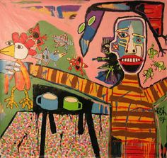 Mikey Welsh art. ¡\/\/\/\!