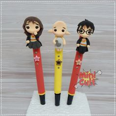 Toy Art, Cult, Pasta Flexible, Mini, Biscuits, Polymer Clay, Halloween, Pencil, Painting