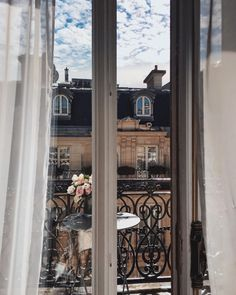 Parisian balconies. by @songofstyle