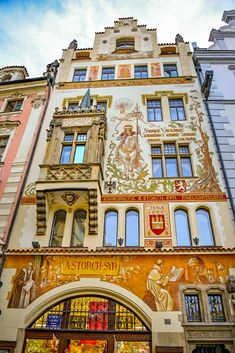 The House of Stony Our Lady, Old Town Square, Prague, Czechia