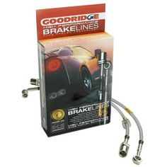 NEW Goodridge Porsche Brake Hose Kit (Stainless Steel) GR37014