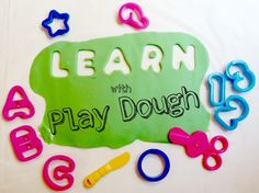 Learn with Play Dough