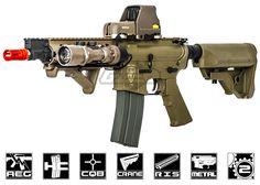 Elite Force Next Gen. M4 CQB Competition Tactical AEG Airsoft Gun ( Flat Dark Earth )