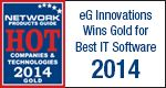 eG Innovations Wins Gold for Best IT Software 2014 http://www.eginnovations.com/web/news/best-it-software-2014.htm