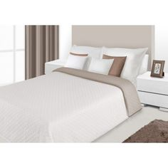 Prehoz na posteľ krémovej farby s prešívaným vzorom Mattress, Furniture, Home Decor, Colors, Decoration Home, Room Decor, Mattresses, Home Furnishings, Home Interior Design