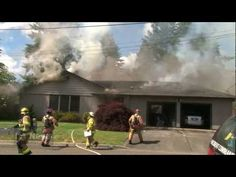 Working House Fire Tacoma Road & 3rd Ave NW Puyallup WA - YouTube
