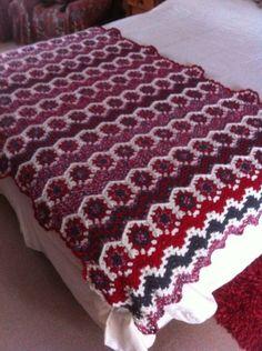 Piecera a crochet #handmade #grannysquare #crochet