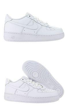 i ragazzi le scarpe 57929: bambini nike air force 1 basso gs bianco 314192