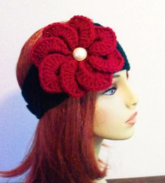 Winter Warm Up Sale Adjustable Headband/Earwarmer by BeyondCrochet