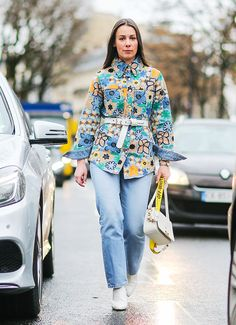 15 Paris Fashion Week Outfits You Could Actually Wear This Weekend via @WhoWhatWearUK
