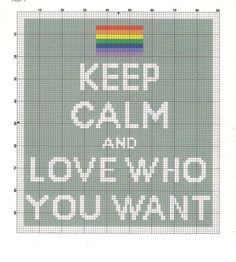 Keep Calm and Love Who Want cross stitch pattern by PrettyWittyPatterns on Etsy Beaded Cross Stitch, Cross Stitch Embroidery, Keep Calm, Wedding Cross Stitch Patterns, Cross Stitch Quotes, Pdf Patterns, Alpha Patterns, Extra Fabric, Plastic Canvas Patterns