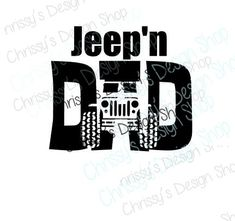 jeep dad svg and silhouette / jeep svg / dad silhouette / jeep eps / jeep dxf / father's day gifts / vinyl crafting / dad pint and cut files Jeep Shirts, Funny Dad Shirts, Dad To Be Shirts, T Shirts With Sayings, Cool Stickers, Custom Stickers, Jeep Images, Vinyl Gifts, Jeep Accessories
