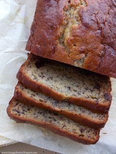 Chocolate Chip Banana Bread with Greek Yogurt | A Homemade Living