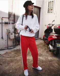 Ganni street style | Andy Csinger | Naoki Polo Pants