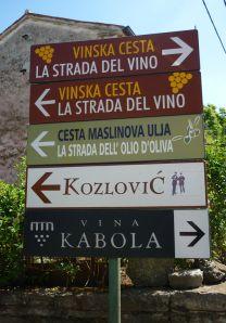 """Istria Wine Route, vineyards, Croatia travel"" Istria: the Bradt Travel Guide. www.bradtguides.com"