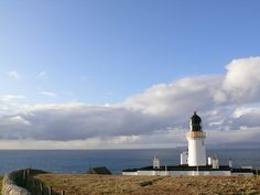 Dunnet Head the most northerly point on mainland Britian.