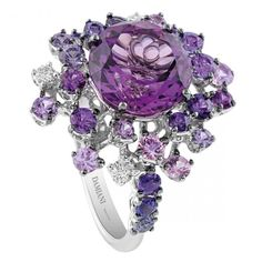 Amethyst,Diamond,and Sapphire ** I would probably never wear this, but it's so beautiful**