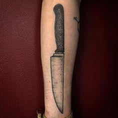 Thomas Bates Tattoo __ Knife