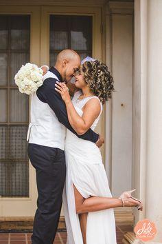 A groom and his sweet bride. #abilenetexas #brideandgroom #mrandmrs