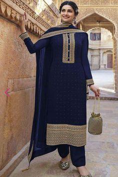 Salwar Kameez Online, Pakistani Salwar Kameez, Sharara, Salwar Suits, Pakistani Suits, Prachi Desai, Palazzo Suit, Work Suits, Occasion Wear