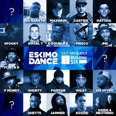 Eskimo Dance: The Return At Building Six,The 02, Peninsular Square, London, SE10 0DX, UK on Oct 10, 2015 to Oct 11, 2015 at 10:00pm to 4:00am, Eskimo Dance returns to the place of the rebirth in 2012 Building Six (Formerly Matter/Proud2)  1st Phase Lineup Announcement  MC's Wiley JME Frisco Jammer Shorty Chip Big Narstie Ghetts D Double E Footsie P Money Flirta D +many more Tba  URL: Tickets: http://atnd.it/34843-1  Category: Nightlife  Prices: VIP 3rd Release £30, 4th Release £17.50