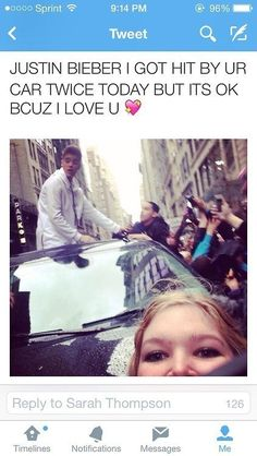 Bieber's biggest fan: | 26 Pictures That Will Make You Have To Laugh To Keep From Crying