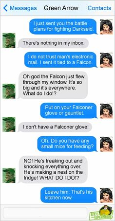Green Arrow and Wonder Woman
