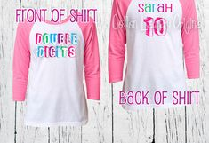 DOUBLE DIGITS Tenth birthday girls birthday 10 year old raglan baseball style tee shirt birthday girl tween shirt by CottonLaundry on Etsy https://www.etsy.com/ca/listing/464715962/double-digits-tenth-birthday-girls