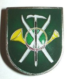 SPAIN MOUNTAIN TROOPS HUNTER MOUNTAIN TITLE BADGE