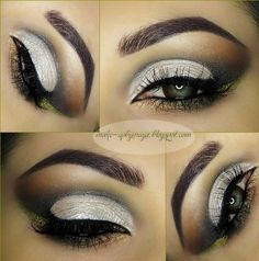 Black & White Makeup