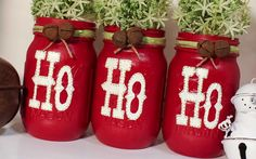 Christmas Mason Jars | Home & Garden, Holiday & Seasonal Décor, Christmas & Winter | eBay!