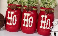 Christmas Mason Jars   Home & Garden, Holiday & Seasonal Décor, Christmas & Winter   eBay!