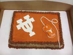 Great University of Texas (Longhorn) cake! #Hookem #Longhorns #UT #CAKE