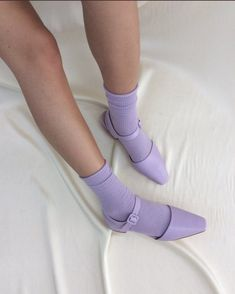 Lilac love shot by ✨🌸 Daphne Blake, Lavender Aesthetic, Aesthetic Colors, Violet Aesthetic, Aesthetic Shoes, Rainbow Aesthetic, Aesthetic Images, Sock Shoes, Cute Shoes