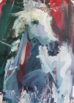 Acrylic horse painting - Robert Joyner