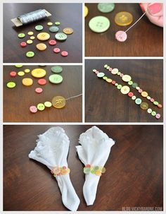 40 Decorative And Brilliant Button Art And Craft Ideas Holiday Crafts, Fun Crafts, Arts And Crafts, Christmas Gifts, Button Art, Button Crafts, Button Bouquet, Diy Buttons, Napkin Folding
