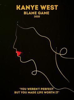 KANYE WEST - BLAME GAME - 2010  http:zavennajjar.com
