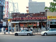 Katz's Deli. Since 1888.  Yum.  And the celeb photos all over the walls are great too.  Get the pastrami or corned beef!