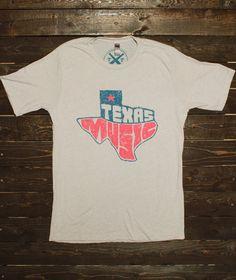 Texas Music Tee - Longhorn Fashions