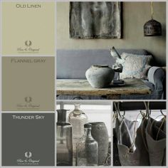 MOODboard. Inspired BY COLOR #ankemosselman. With Pure & Original colors. Lime Paint, Chalk Paint and much more. Cred. Anke Mosselman