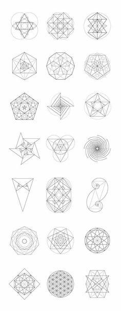 Geometric Shapes 100 Ideas Geometric Geometric Shapes Geometric Art