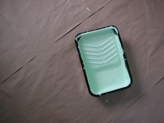 Use a Disposable Paint Tray as a Litter Box Liner