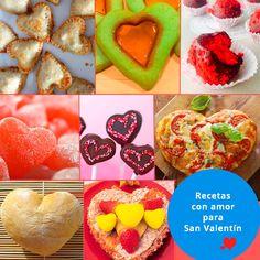 ¿Estás pensando en un menú con mucho amor para San Valentín? ¡Lo tenemos! #SanValentin http://www.guiainfantil.com/recetas/cocinar-con-ninos/recetas-faciles-para-san-valentin/